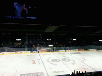 Colisée Pepsi, section: 210, row: F, seat: 17