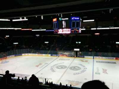 Colisée Pepsi, section: 214, row: D, seat: 11
