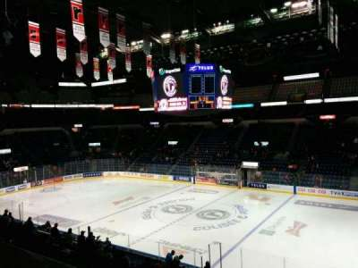 Colisée Pepsi, section: 216, row: A, seat: 10
