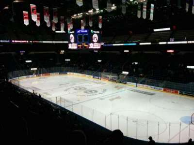 Colisée Pepsi, section: 218, row: C, seat: 14