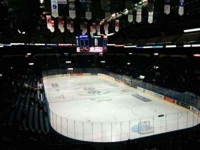 Colisée Pepsi, section: 220, row: D, seat: 19