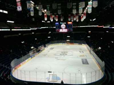 Colisée Pepsi, section: 219, row: E, seat: 50