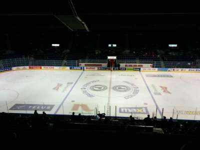 Colisée Pepsi, section: 211, row: F, seat: 7