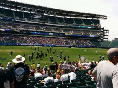Lincoln Financial Field section 118