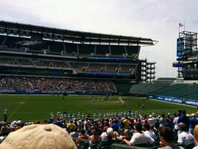 Lincoln Financial Field, section: 120, row: 26, seat: 1
