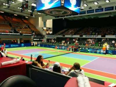 Kastles Stadium, section: Table12, row: 1, seat: 3