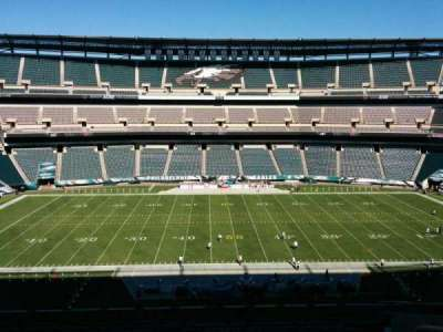 Lincoln Financial Field, section: c40, row: 19, seat: 1