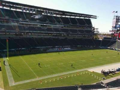 Lincoln Financial Field, section: c17, row: 8, seat: 9