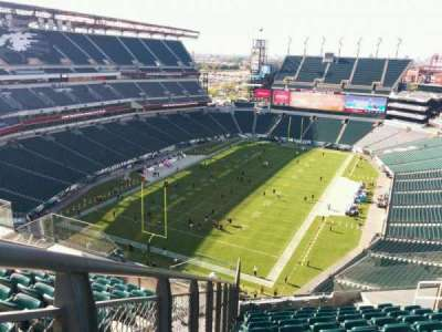 Lincoln Financial Field section 216
