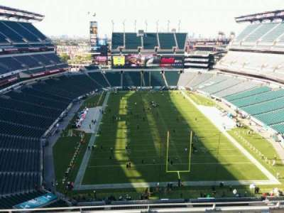 Lincoln Financial Field, section: 211, row: 9, seat: 15