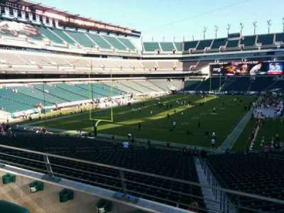 Lincoln Financial Field, section: 131, row: 37, seat: 3