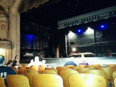 Merriam Theater, section: Orchestra, row: G, seat: 10