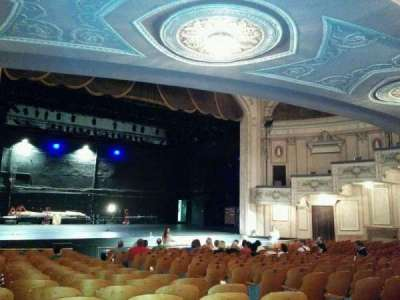 Merriam Theater, section: Orchestra, row: s, seat: 11