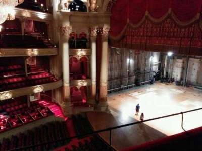 Academy of Music, section: family circle b, row: c, seat: 46