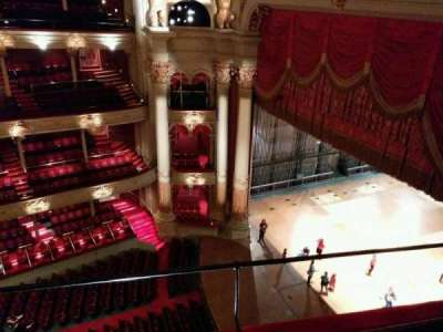 Academy of Music, section: Amphitheater A, row: c, seat: 58