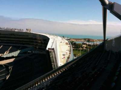Soldier Field, section: 428, row: 33, seat: 10