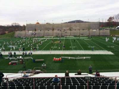 Goodman Stadium, section: wo, row: 5, seat: 11