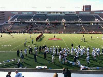 Princeton Stadium, section: 26, row: 17, seat: 20