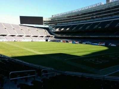 Soldier Field, section: 128, row: 11, seat: 7