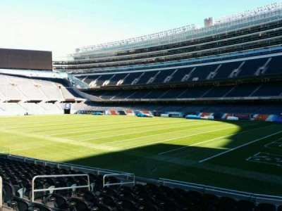 Soldier Field, section: 130, row: 11, seat: 8