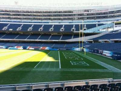 Soldier Field, section: 131, row: 8, seat: 8