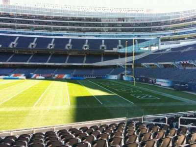 Soldier Field, section: 132, row: 11, seat: 8