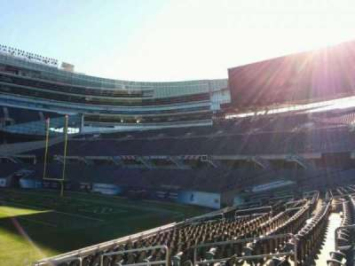 Soldier Field, section: 133, row: 11, seat: 8