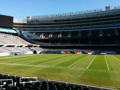 Soldier Field, section: 138, row: 10, seat: 10