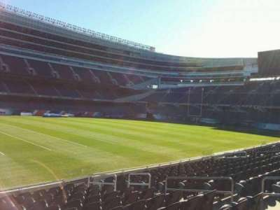 Soldier Field, section: 141, row: 12, seat: 9