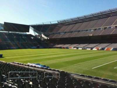 Soldier Field, section: 103, row: 10, seat: 9