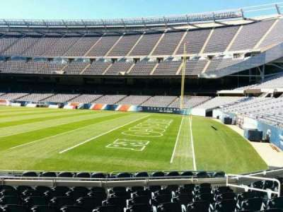 Soldier Field, section: 103, row: 10, seat: 8