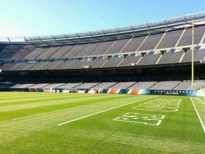 Soldier Field, section: 103, row: sidelime, seat: 6