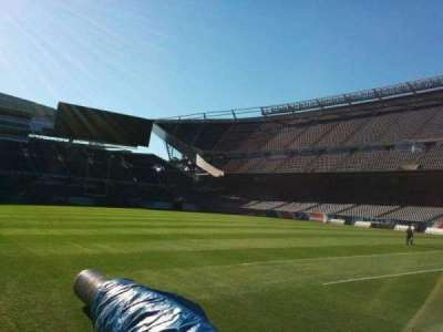 Soldier Field, section: 104, row: sideline, seat: 6