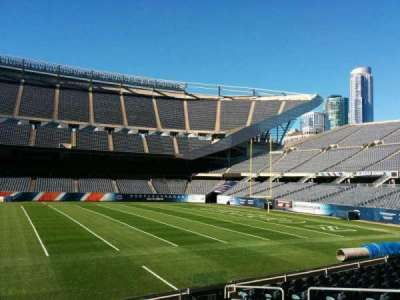 Soldier Field, section: 107, row: 10, seat: 8