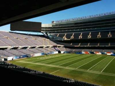 Soldier Field, section: 237, row: 4, seat: 12