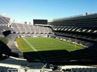 Soldier Field, section: 326, row: 14, seat: 8