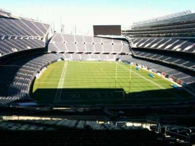 Soldier Field section 424