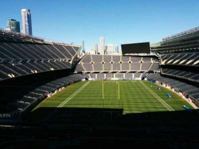 Soldier Field, section: 422, row: 1, seat: 11
