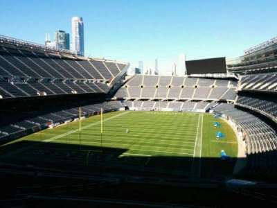 Soldier Field, section: 320, row: 9, seat: 14
