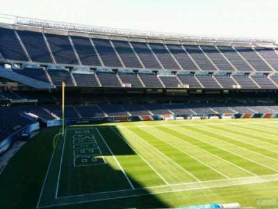 Soldier Field, section: 214, row: 10, seat: 9