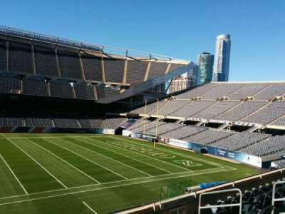 Soldier Field, section: 208, row: 6, seat: 10