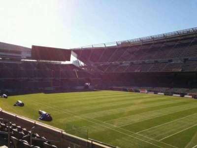 Soldier Field, section: 204, row: 6, seat: 9