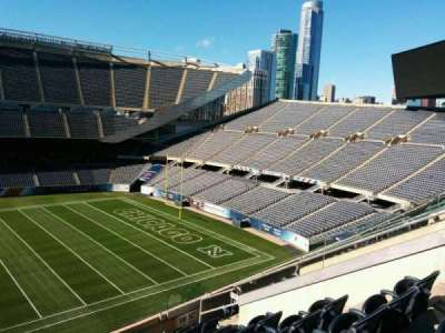 Soldier Field, section: 308, row: 9, seat: 8