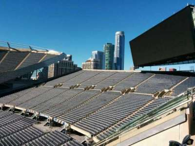 Soldier Field, section: 304, row: 8, seat: 8