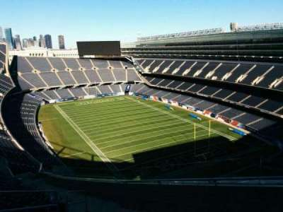 Soldier Field, section: 427, row: 23, seat: 5