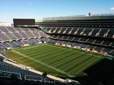 Soldier Field, section: 431, row: 19, seat: 12
