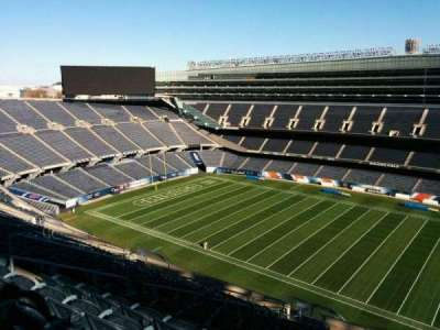 Soldier Field, section: 434, row: 19, seat: 10