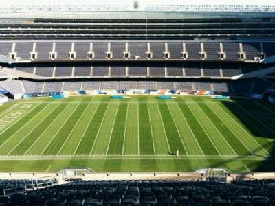 Soldier Field, section: 437, row: 19, seat: 10