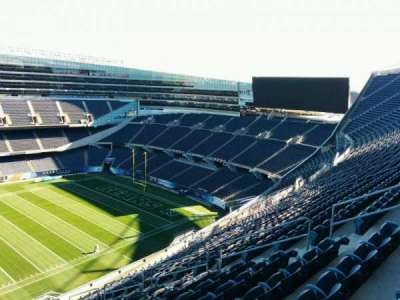 Soldier Field, section: 438, row: 19, seat: 10