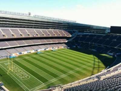 Soldier Field, section: 444, row: 19, seat: 10